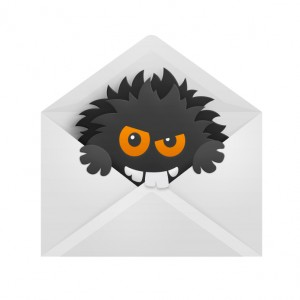 This gremlin doesn't know his email etiquette