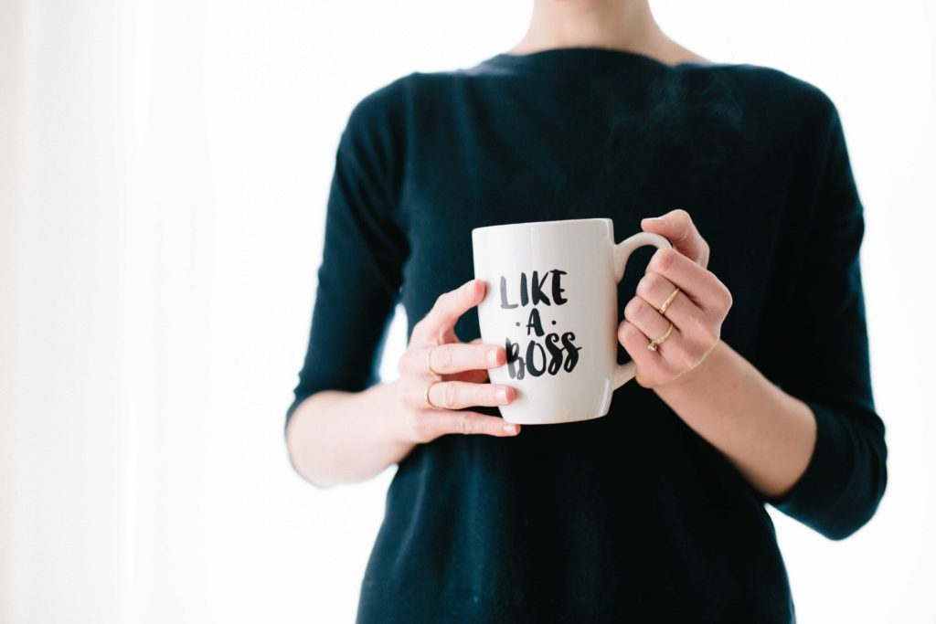 Like a Boss mug - dare to lead