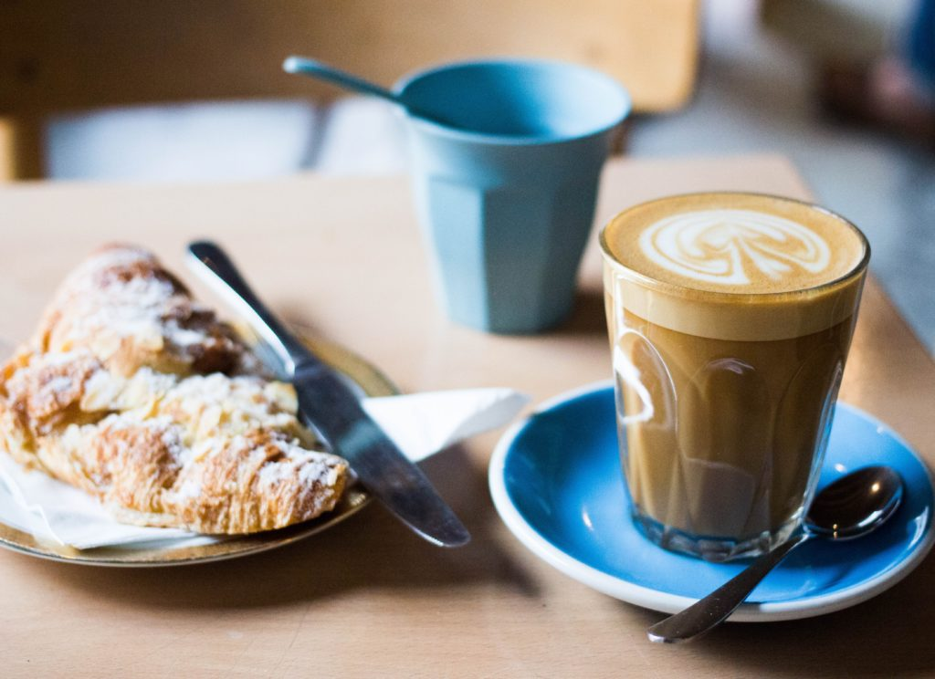 coffee and croissant - Leaders Who Brunch